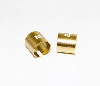 [Monday Edition] M.E Gold Initial Pipe Ring (50%off)