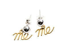 Usual Drop Me Silver Earrings A