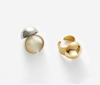 Bold Drop Ring - GOLD, SILVER