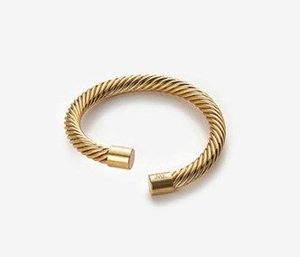 [Monday Edition] Twisted Pattern Bangle (40%off)
