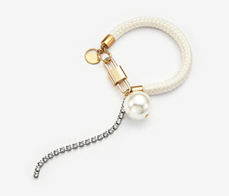 [Monday Edition] Pearl And Crystal Rope Bracelet (20%off)