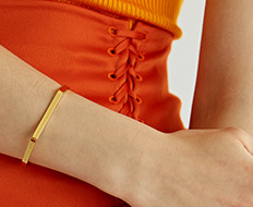 usual simple bangle J (3 colors)