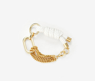 [Monday Edition] Big Shape Bold Chain and Rope Bracelet (30%off)
