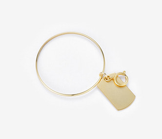 [Monday Edition] Soldier Tag Bangle (30%off)