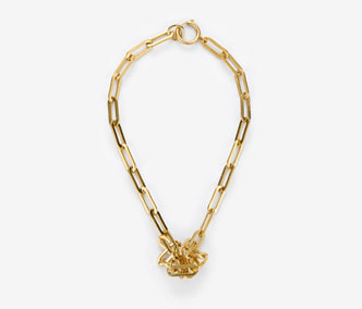 [Monday Edition] Bold Chain Knot Necklace