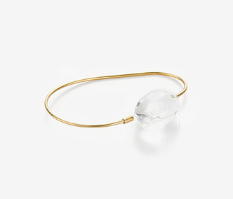 [ME x Mowani] Glass Wire Bangle