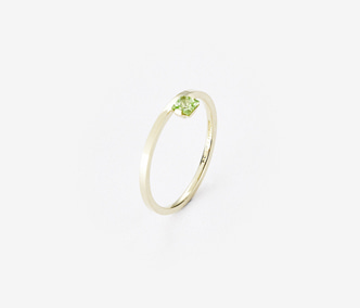 Birthstone Ring Peridot - August