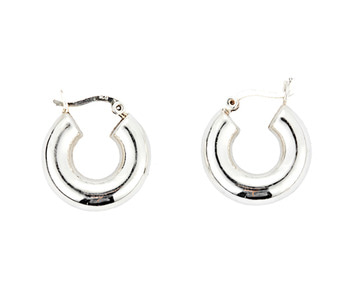 [usual ME] silver hoop earrings 3 (15%off)