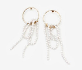 [Monday Edition] Pearl Falls Earrings