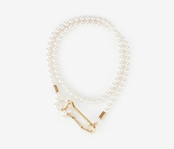 Big Locking Pearl Necklace