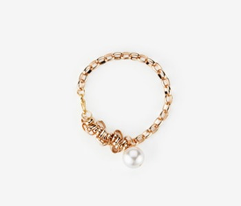 Simple Chain Bundle Bracelet