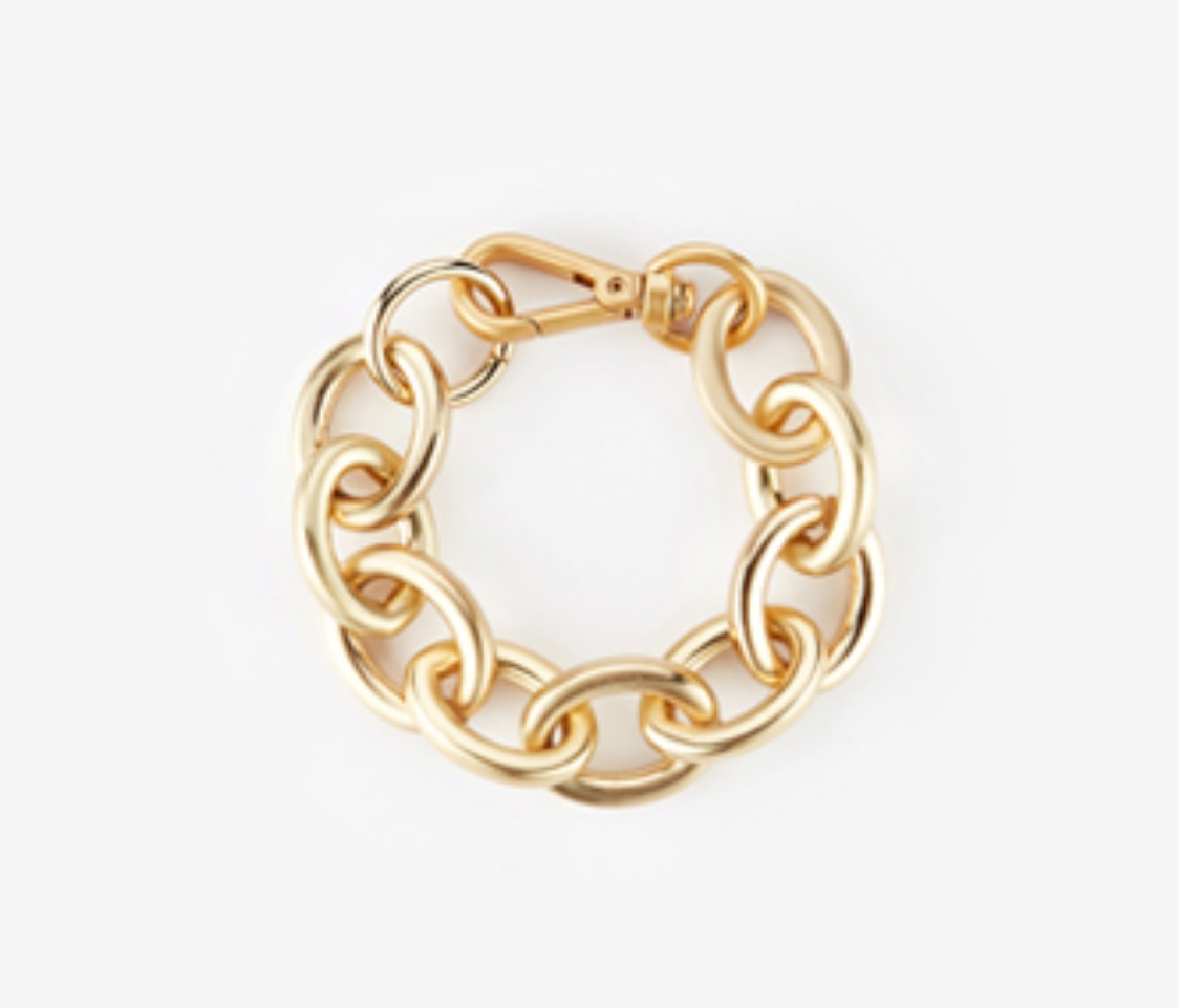 [Monday Edition] bold oval chain bracelet (20%off)