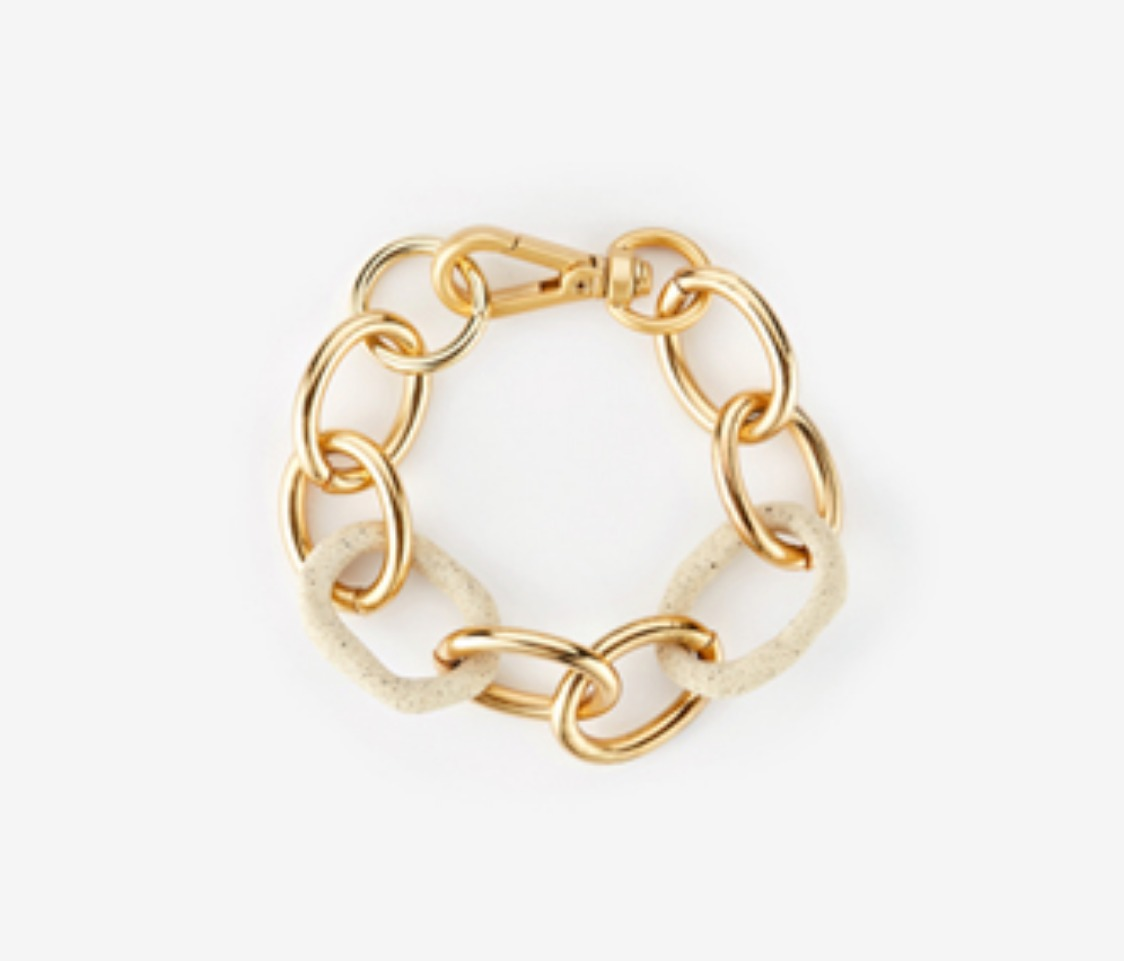 [Monday Edition] Bold Oval Ceramics Bracelet (20%off)
