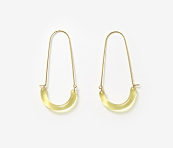[Monday Edition] U Shape Glass Earrings (15%off)