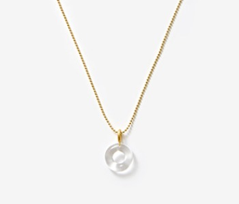[Monday Edition] Donut Glass Necklace (10%off)
