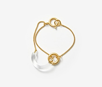 [Monday Edition] U Shape Glass Bracelet (10%off)