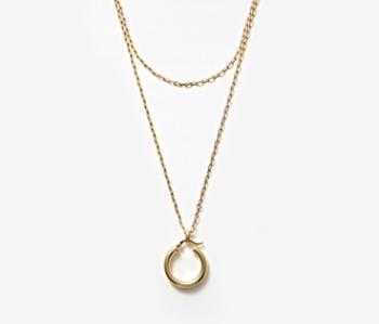 [Monday Edition] Layered Chunky Hoop Necklace (10%off)