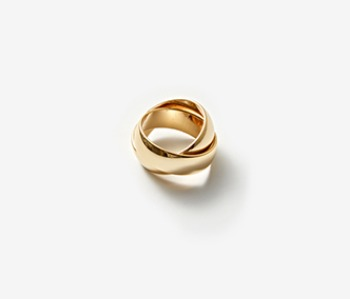 [Monday Edition] Bold Mobius Ring (15%off)