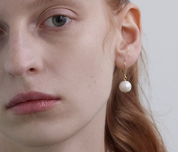 The Drop Pearl Earrings (15% off)