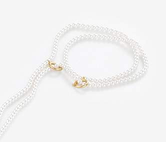 [Monday Edition] Linked Pearl Long Necklace (20%off)