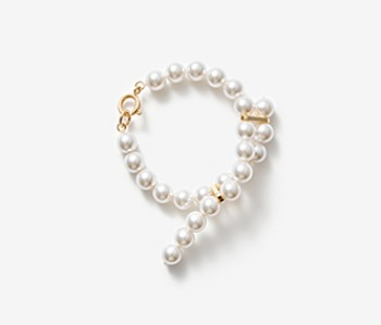 [Monday Edition] Cross-ended Pearl Bracelet (10%off)