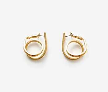 Small Coil Itself Earrings (10% off)