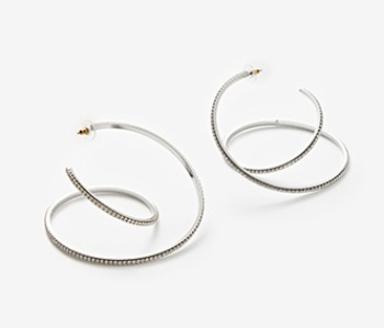 Big Coil Itself Earrings (10% off)