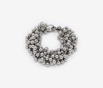 Tiny Ball Bundle Chain Bracelet